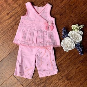 Pink and super soft 2pc outfit